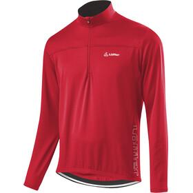 Löffler Modest HZ CF maglietta a maniche lunghe Uomo rosso
